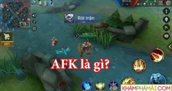 AFK là gì? thuật ngữ hay dùng trong game online