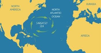 Bí ẩn về vùng biển duy nhất không có bờ trên thế giới