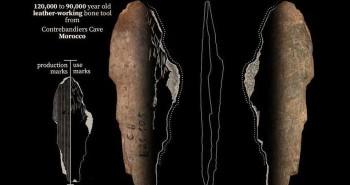 """Phát hiện xưởng """"thời trang"""" có niên đại tới 120.000 năm"""