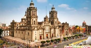 """Thành phố Mexico đang """"chìm xuống"""" ở mức không thể ngăn cản"""