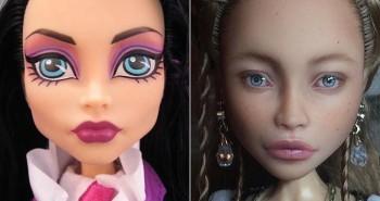 Nghệ thuật trang điểm búp bê của Nghệ sĩ người Ukraina khiến bạn thán phục