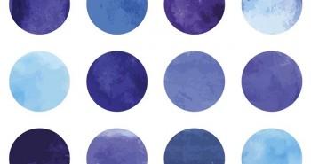 Chấm tròn này tím hay xanh: Bằng chứng cho thấy con người sẽ không bao giờ hạnh phúc
