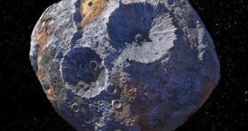Tiểu hành tinh trị giá 10 tỷ tỷ USD đang han gỉ