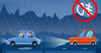 6 lời khuyên khi lái xe giúp bạn tránh được tai nạn ô tô khi di chuyển trong thời tiết xấu