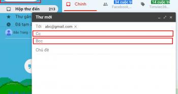 CC, BCC là gì? bạn thường thấy khi sử dụng Email