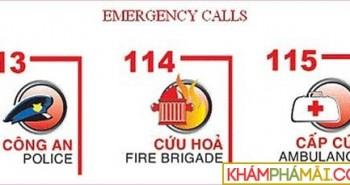 112, 113, 114, 115 là số điện thoại gì? Tổng đài khẩn cấp ở VN